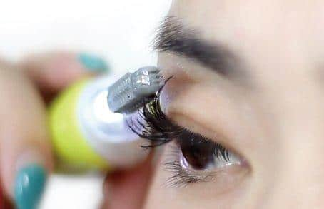 Thermo Wimpernformer Anwendung