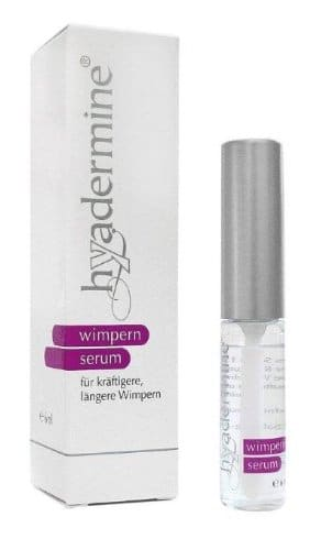 Der hyadermine Wimpernserum Test