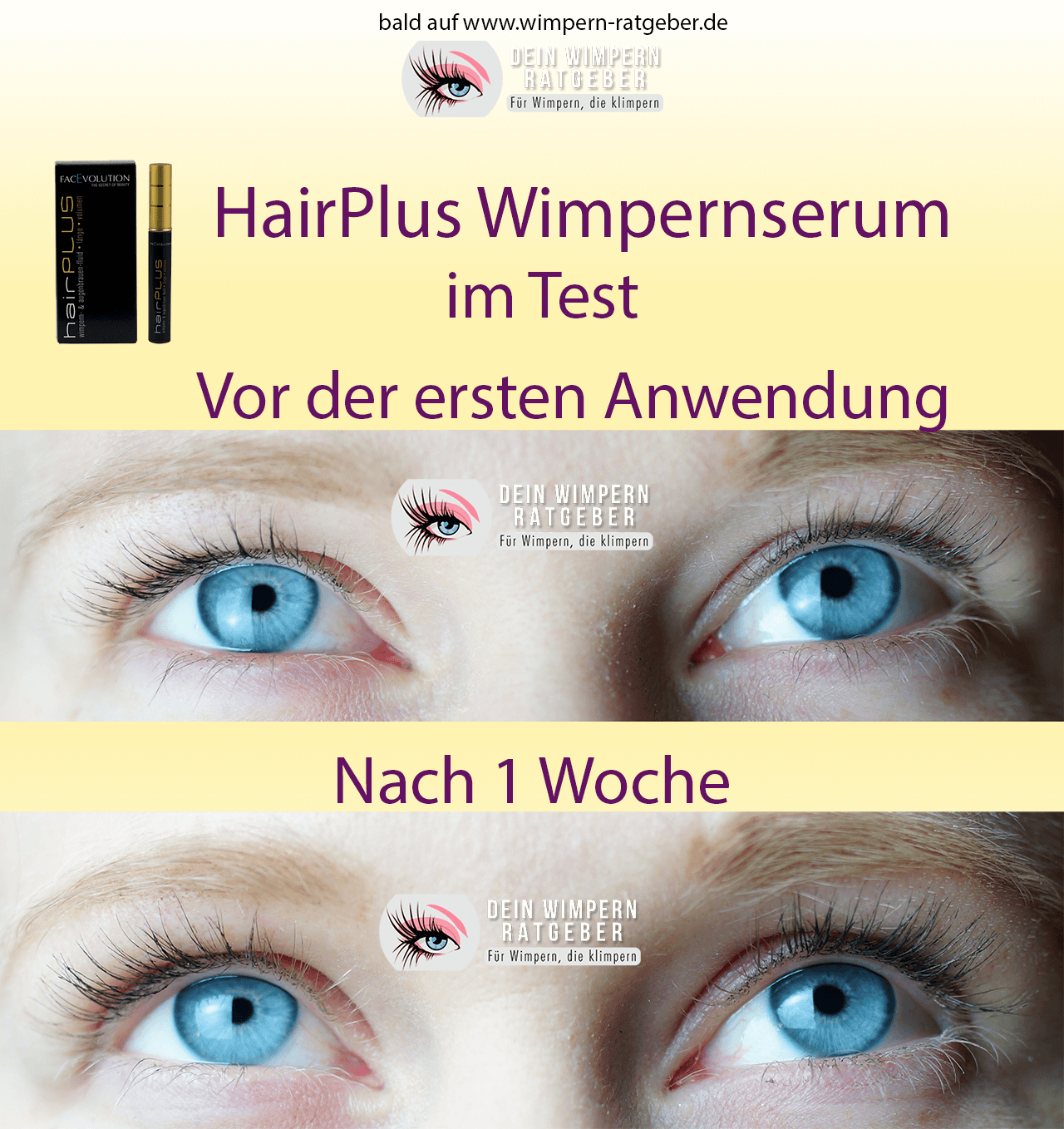 Testerin 1 hairPlus Wimpernserum_1