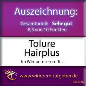 Tolure Hairplus Gütesiegel