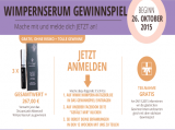 26.10.2015 – Oktober Wimpernserum Gewinnspiel – DeLuxeLash ADVANCED